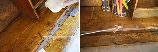 アンティーク家具のクリーニング 仕方